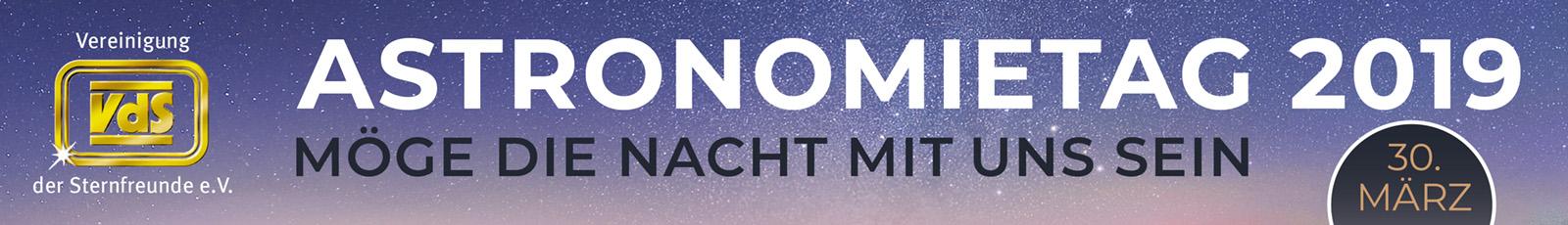 Banner Astronomietag 2019
