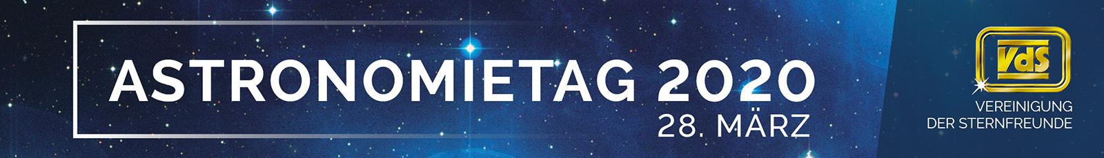 Astronomietag 2020 Banner schmal